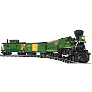 Best Train Sets for Kids Lionel John Deere Ready to Play Train Set photo