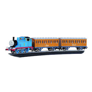Best Train Sets for Kids Bachmann Trains Thomas with Annie and Clarabel Ready-to-Run Train Set photo