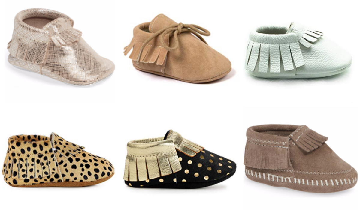 The Cutest Moccasins for Babies and Toddlers