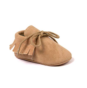 Kuner Baby Soft Sole Moccasins with Tassels Amazon Baby Moccasins photo
