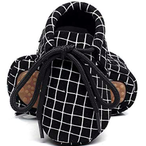 Lace Up Leather Baby Moccasins photo