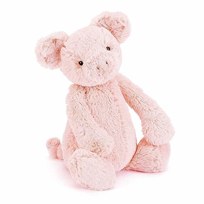 Pig-Themed Baby and Toddler Gifts Jellycat Bashful Pig photo