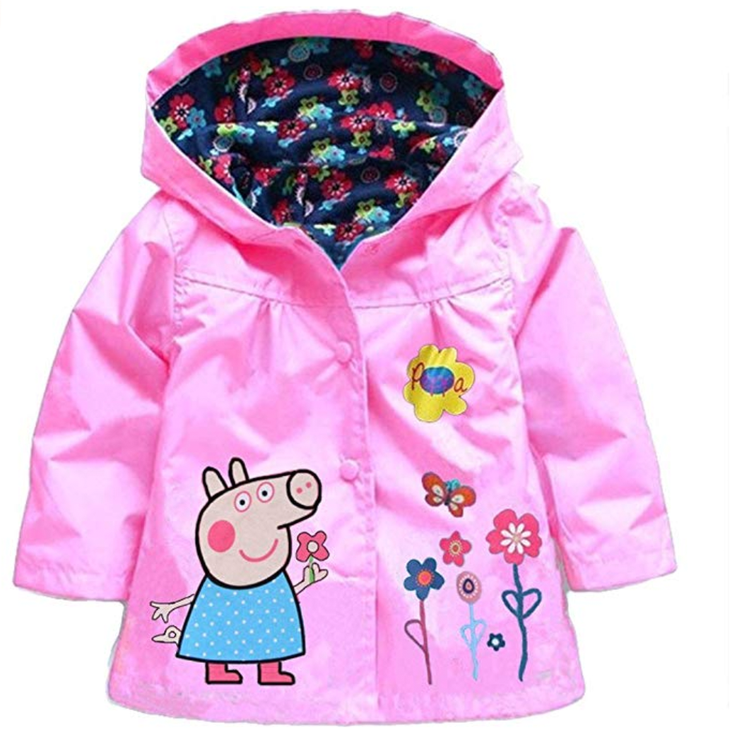 Pig-Themed Baby and Toddler Gifts EGELEXY Peppa Pig Kids Coat photo