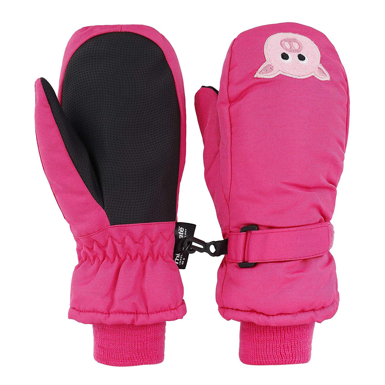 Pig-Themed Baby and Toddler Gifts Livingston Children's Thinsulate Insulated Waterproof Ski Mittens photo
