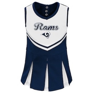 NFL Los Angeles Rams Infant/ Toddler In the Spirit Cheer Set Target photo