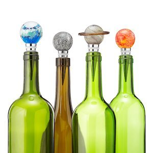 Solar System Glow-in-the-Dark Bottle Stoppers photo