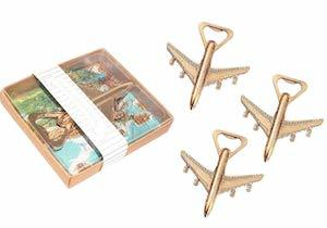 Airplane Bottle Openers with Gift Box photo
