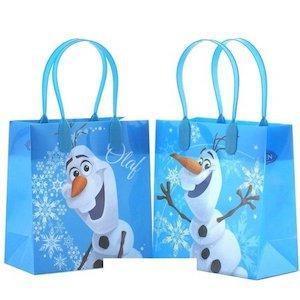 Frozen Birthday Party Ideas Party Favors Disney 'Frozen' Elsa, Anna & Olaf Gift Bags photo