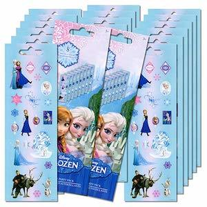 Frozen Birthday Party Ideas Disney 'Frozen' Stickers Party Favor Sheets photo
