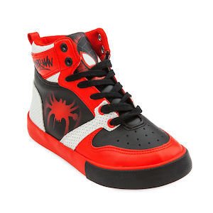 Spider-Man Gift Ideas Spider-Man: 'Into the Spider-Verse' High-Top Sneakers for Kids photo