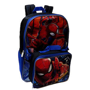 Spider-Man Gift Ideas Marvel Spider-Man Backpack Combo Set photo