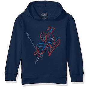 Spider-Man Gift Ideas Marvel Boys' Little Spider-Man Pullover Sweatshirt photo