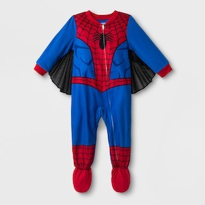 Spider-Man Gift Ideas Toddler Boys' Spider-Man Blanket Sleeper photo