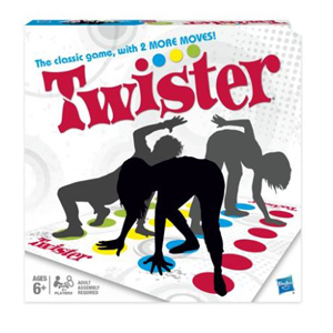 Twister game with two more moves from Walmart photo