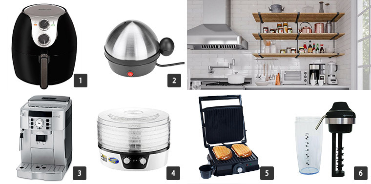 Small cooking appliances for your kitchen. photo