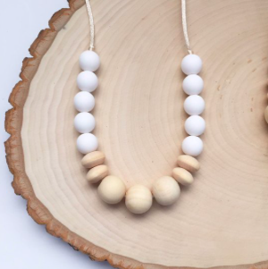 Best Teething Necklaces Wooden Teething Necklace from Etsy photo