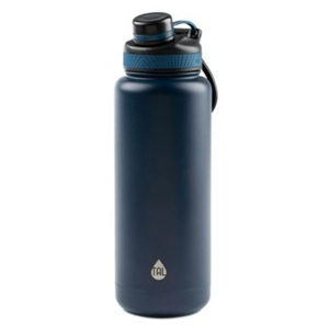 Navy blue insulated water bottle from Walmart photo