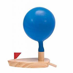 Best Retro Toys for Kids Schylling Balloon Powered Boat photo
