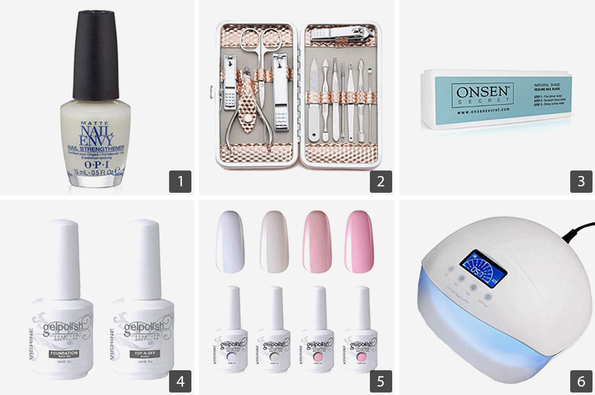 Everything You Need for an At-Home Nail Salon from Amazon | Real Simple