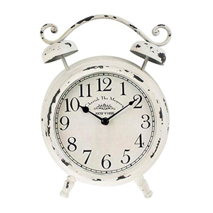 Small distressed table clock from Amazon photo