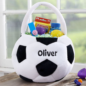 Personalized Easter Baskets Soccer Ball Personalization Mall photo