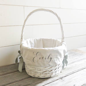 Personalized Easter Baskets Liner Etsy photo