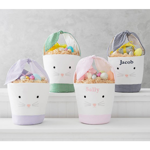 Personalized pastel Easter baskets from Pottery Barn Kids photo