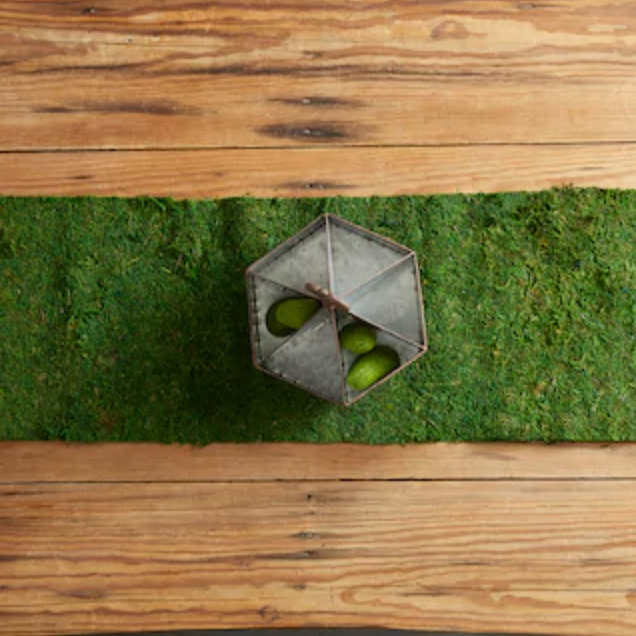 Moss Table Runner by Ashland Michaels photo