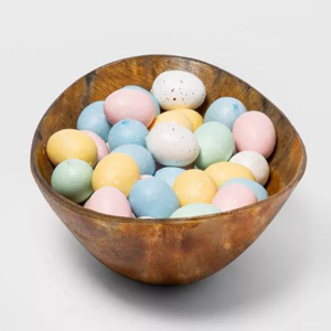 Set of 50 speckled foam Easter eggs in various colors from Target photo