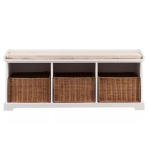 Three-cube bench organizer from Target photo