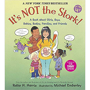 It's Not The Stork! A Book About Girls, Boys, Babies, Families and Friends by Robie H. Harris photo