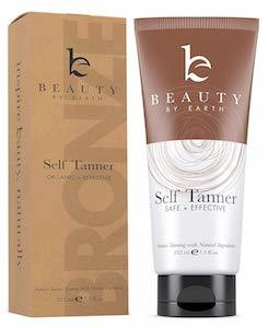 Beauty by Earth Self Tanner Amazon photo