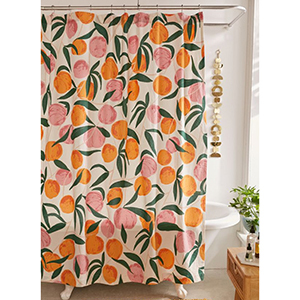 Allover Fruits Shower Curtain photo