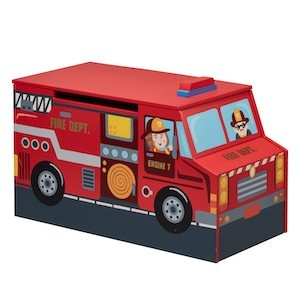 Fantasy Fields Little Firefighters Toy Chest photo