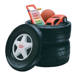 Little Tikes Classic Racing Tire Toy Chest photo