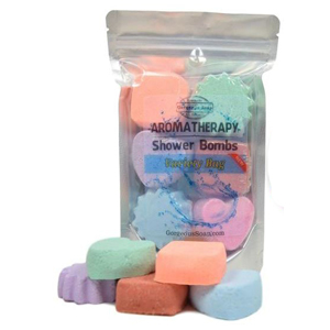 Pack of four to nine bath bombs in various scents photo