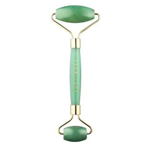 Green two-sided jade roller from Sephora photo