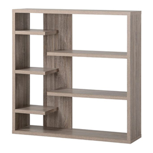 Bookcase with six shelves photo