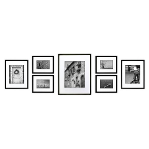 Set of seven picture frames from Houzz photo
