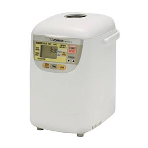 Small white bread maker with digital screen from Target photo