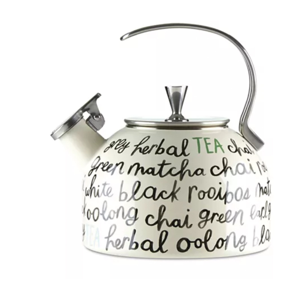 Kate Spade New York All in Good Taste Piping Hot Tea Kettle Macys photo
