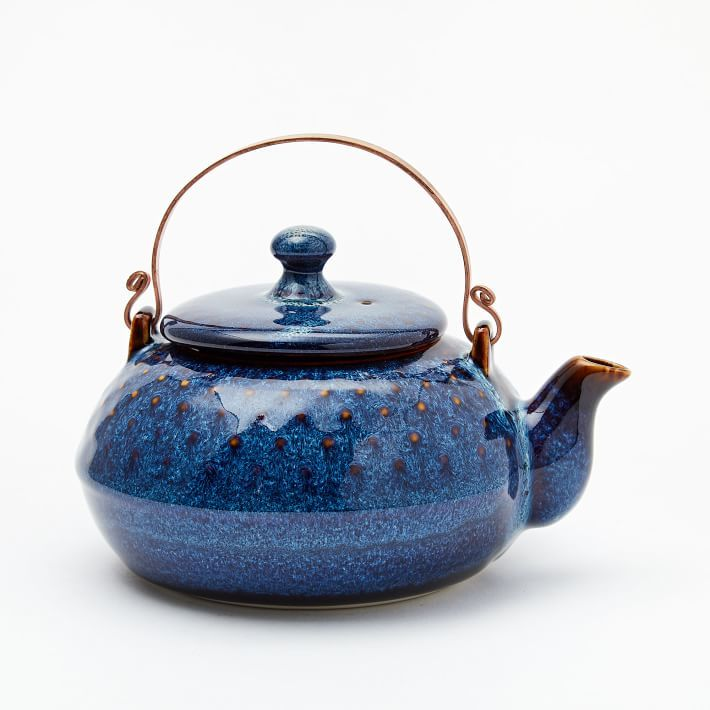 Ocean Waves Teapot from West Elm photo