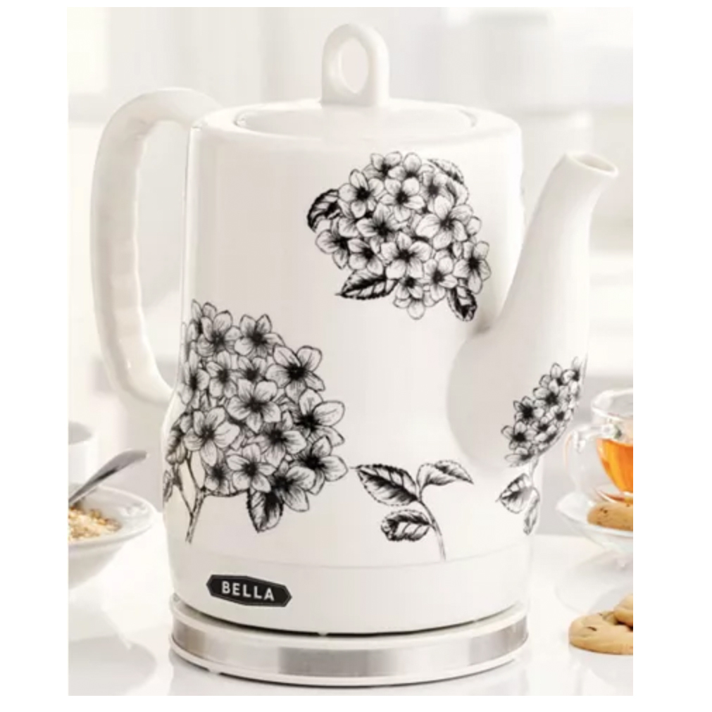 Bella Ceramic Electric Kettle from Macys photo