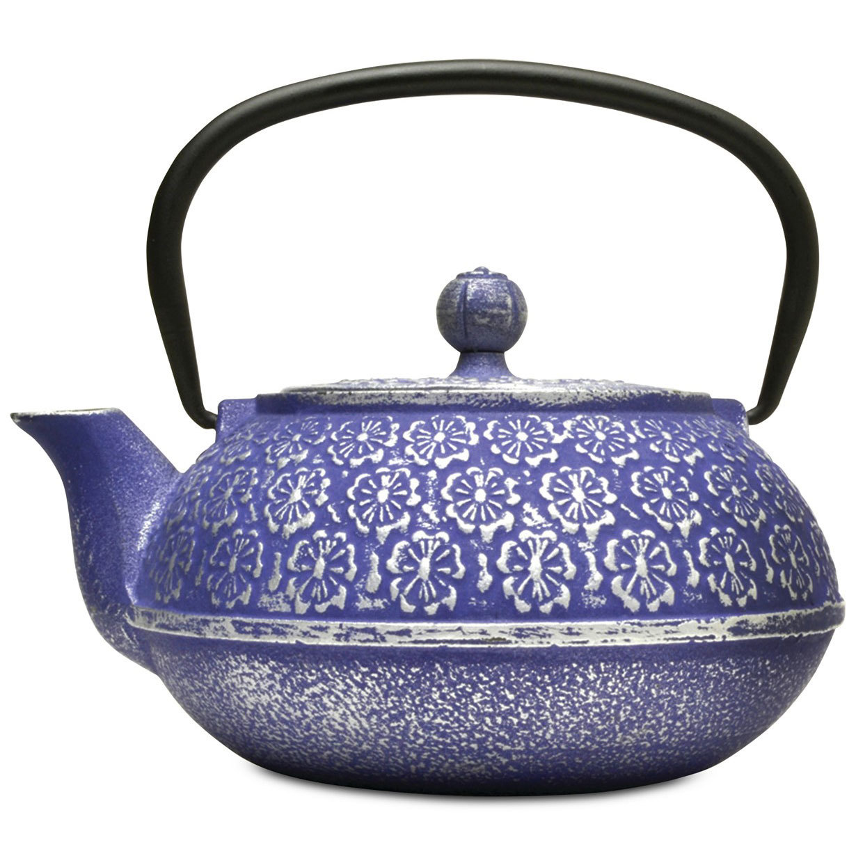 Primula Floral Cast Iron Teapot & Infuser from Macys photo