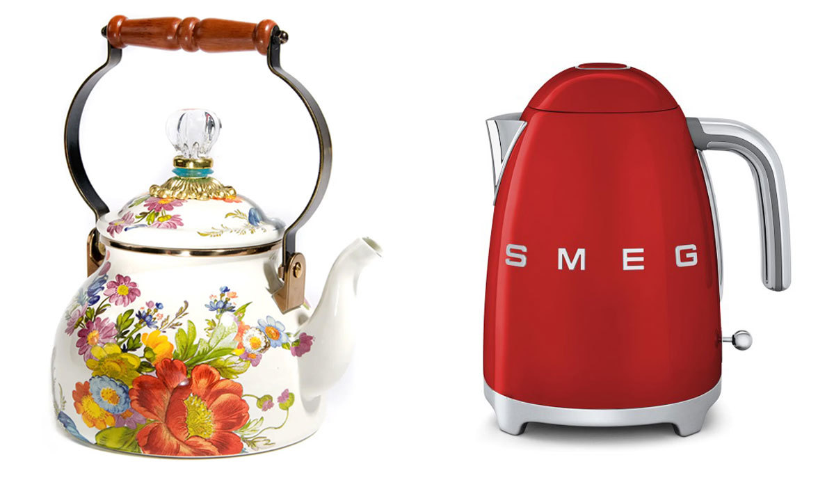 The 12 Prettiest Tea Kettles and Tea Pots for Your Wedding Registry