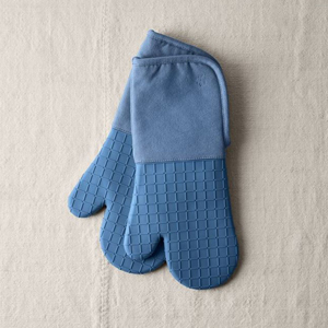 Pair of two silicone oven mitts from Food52 photo