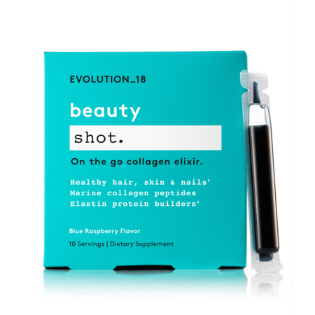 EVOLUTION_18 Beauty Boosting Shot with Collagen, Berry, 10 Servings photo