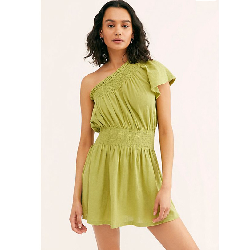 Free People Byron Babe Tunic in green photo