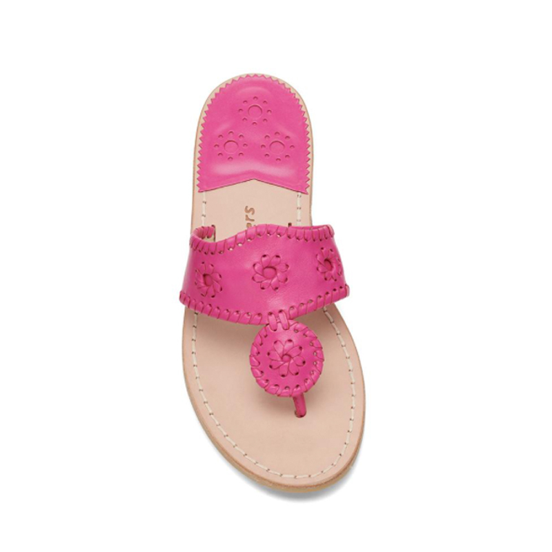 Jack Rogers Classic Flat Sandal in pink photo