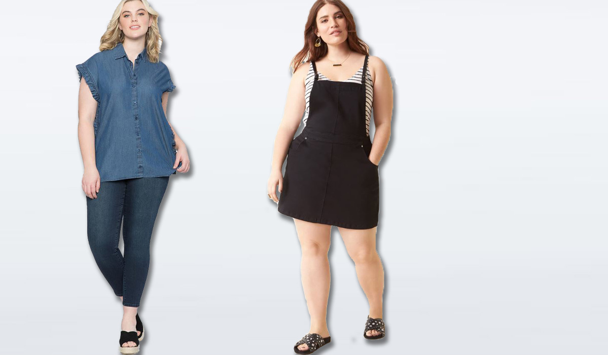 7 Plus-Size Denim Fashion Finds You Can Add to Your Wardrobe for Under $100